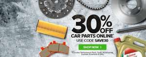 30% off Euro Carparts online with code SAVE30
