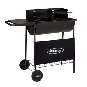 Outback Half Drum Charcoal BBQ - £50 delivered @ BBQ world