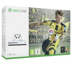 Xbox One S 1TB Console with FIFA 17 + Forza Horizon 3 + Gears of War 4 Free delivery £269.99 @ Argos