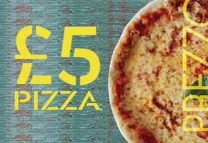 Classic Pizza for £5 @ Prezzo from 21st May