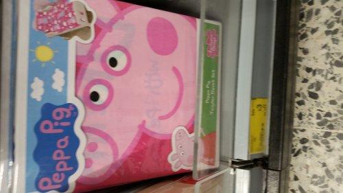 Peppa pig toddler duvet set was £12 - £3 @ Asda Watford
