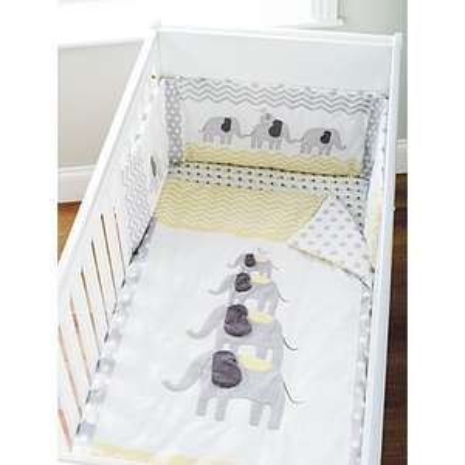 Sunshine elephant nursery bedding range - some items half price from £3.50 - instore @ Asda