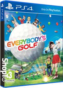 [PS4] Everybodys Golf (Plus the 20th Anniversary Course, a rabbit mascot costume outfit,  a unique shirt in 2 different colours and a premium kart) - £24.85 - Shopto
