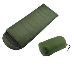 OUTAD SINGLE or DOUBLE XL Sleeping Bag - Warm 400gsm Fill - Adult Season 3-4 SUM £7.98 delivered @ bylimshop/ebay