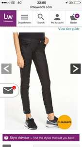 V by very Maternity Ella skinny jeans free delivery - £13 @ Littlewoods