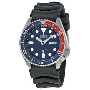 Seiko SKX009 and SKX007 diver's 200m watch (k1 and k2) on sale @ eglobalcentral eg SKX009k1 £127.06 inc delivery