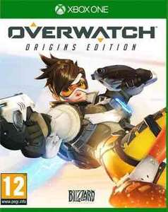 Overwatch XO/PS4 £22 at Tesco Direct