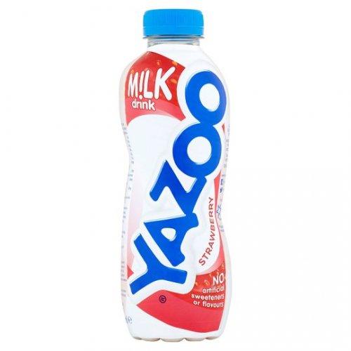 Yazoo Chilled Milkshake 400Ml was £1.00 now 50p at Tesco Strawberry/Banana/Chocolate/Vanilla