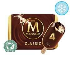 Magnum 4 x 110ml  all varieties £1.60 @ Tesco