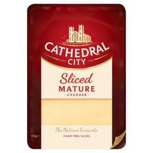 Cathedral City Matured/Lighter Sliced Cheese 150G was £2.00 now £1.00 at Tesco