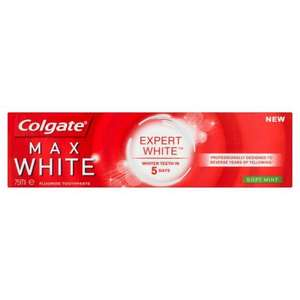Colgate Expert White - 2 for £10 (£4 after cashback, FREE after Brand Match)