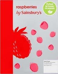 Frozen Raspberries 350g 30p @ Sainsbury's
