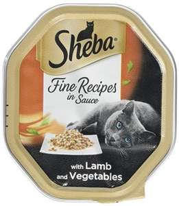 Sheba cat food additional 25% off with subscribe and save at Amazon from £4.08