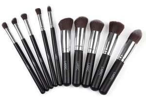 10 pcs Kabuki Makeup Brush Kit £6.95 @ justmyloook