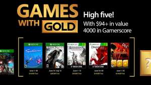 June's Games with Gold (Speedrunners / Watch Dogs / Assassin's Creed 3 / Dragon Age: Origins)