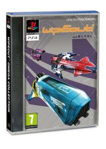 WipEout: Omega Collection - with Classic Sleeve & 4 x PS4 Team Themes (PS4) £24.85 @ base.com