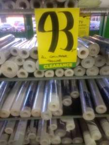 Homebase wallpaper reduced to 93p instore and online