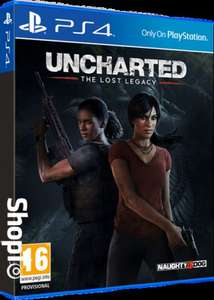 Uncharted: The Lost Legacy (PS4) - £24.85 @ ShopTo - includes Jak and Daxter pre-order bonus