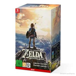 Zelda Breath of the Wild Special Edition back in stock at Nintendo Official store - £89.99