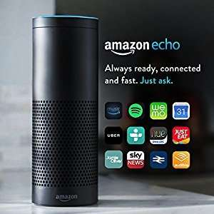 Amazon Echo Black/White £114.99 delivered with code  Currys (update £114 Tesco Direct)