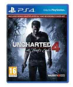 Uncharted 4 (PS4) £14.99 preowned @ GAME