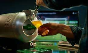 Heineken Sub Champions League bundle with two glasses £29 + £70 - £99 groupon