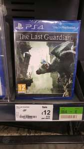 The Last Guardian Ps4 £12 @ Asda Barnsley