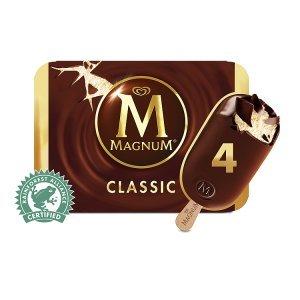 Iceland 7 Day Deal: Magnum Classic/White  Ice Cream 4 x 110ml  £1.50