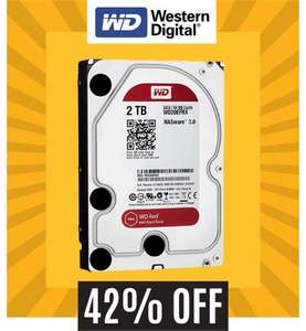 "Western Digital Red 2TB 3.5"" NAS Hard Drive WD20EFRX £75.99 @ MobyMemory"