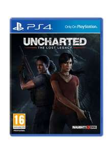 Uncharted: The Lost Legacy + Jak and Daxter: The Precursor Legacy (PS4) £24.49 Delivered (Preorder) @ Base