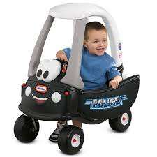 Little Tikes Cozy coupe police car (was £55) Now £34.65 delivered using code at Debenhams