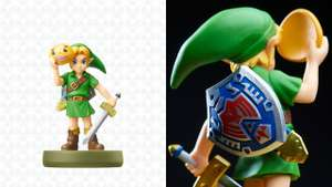 Twilight Princess Link & Majoras Mask Link Amiibo Available on Amazon - £10.99 each (+£1.99 Delivery for Non Prime)
