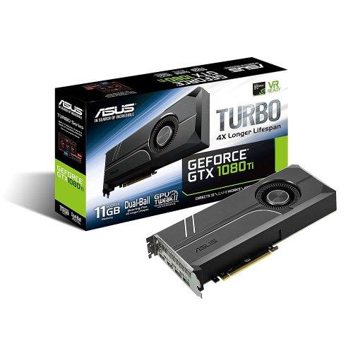 ASUS Turbo Nvidia GeForce GTX 1080 Ti 11GB GDDR5X £599.75 @ Amazon.it includes free Dawn of War 3 promo code!