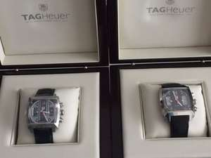 TAG MONACO CHRONOGRAPH 24 CALIBRE 36 STAINLESS STEEL GENTS CAL 5111. FC 6299 £4410 at Tag Heuer Bicester outlet