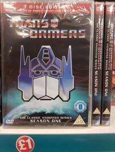 Transformers The Classic Animated Series - Series 1 £1 @ Poundland