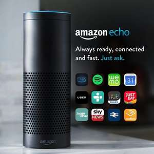 Amazon Echo £124.99 or £114.99 for new prime members