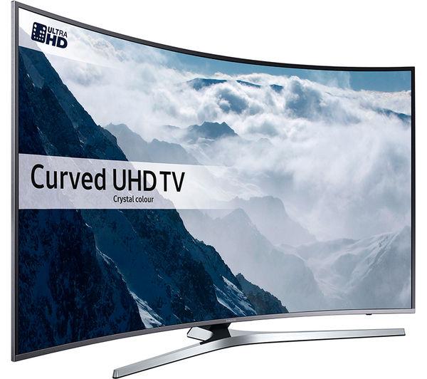 "Samsung Smart 4k Ultra HD HDR 49"" WI-Fi Curved TV [UE49KU6670] + 5 Year Guarantee £499 @ Currys (Using code)"