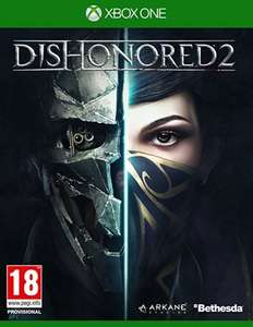 Dishonored 2 - Xbox One - £10.00 (Prime / £11.99 non Prime) @ Amazon