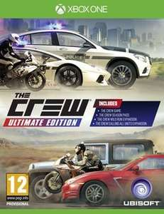 The Crew Ultimate Edition Xbox One - £9.99 (delivered) @ GAME