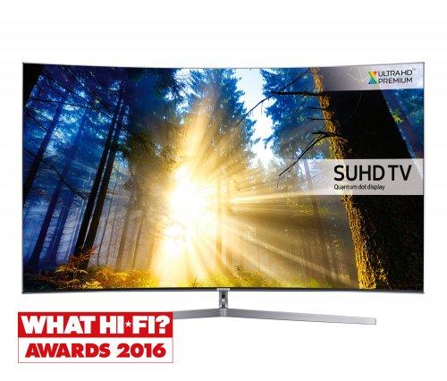SAMSUNG UE65KS9000 65 inch Curved 4K Quantum Dot Ultra HD Premium Smart LED TV Freeview HD Freesat HD £1299 @ Richer sounds