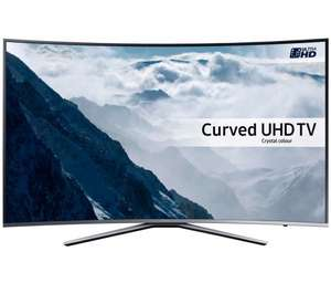 SAMSUNG UE49KU6500 49 inch Curved 4K Ultra HD HDR Smart LED TV Freesat HD  with 6 years warranty  £499  Richersounds