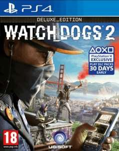 [PS4/Xbox One] Watch Dogs 2: Deluxe Edition - £17.99 (Game)