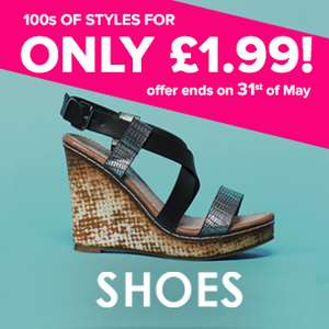 Shoes £1.99 delivered @ everything5pound.com with code