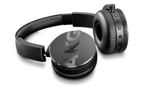 AKG Y50BT Black On Ear Closed Back Mic Wireless Bluetooth Headphones £99 - Richer Sounds