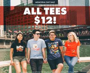 All Threadless T-shirts $12 / £9 - £16.89 delivered