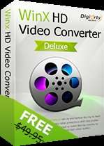 Free Full Licensed Copy of WinX HD Video Converter Deluxe