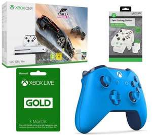 Xbox one S 500gb + horizon 3+ controller+ 3 month gold+ charging dock £219.99 - Currys
