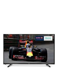 Hisense H55M3300, 55 inch, 4K Ultra HD, HDR, Freeview HD, Smart TV  £436.98 - Very.co.uk