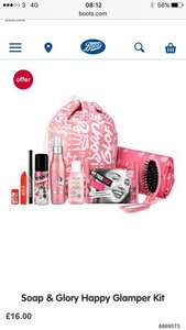 Soap & Glory's HAPPY GLAMPER Festival Kit £16 - Boots