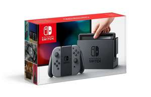 Nintendo Switch - Grey BACK IN STOCK £279 @ AmazonUK
